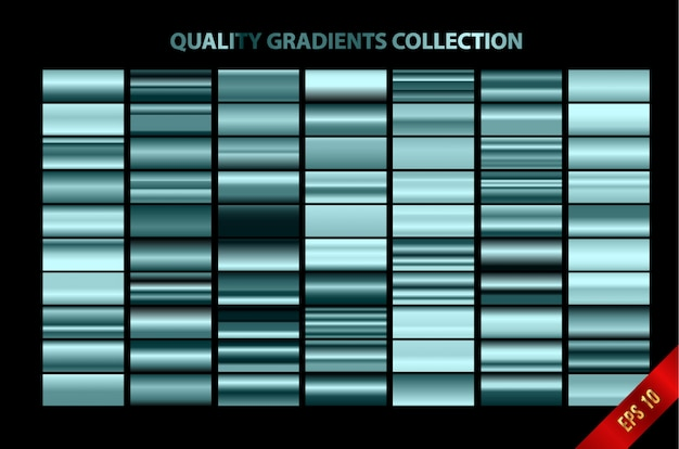 現代的な品質のグラデーションコレクション Premiumベクター