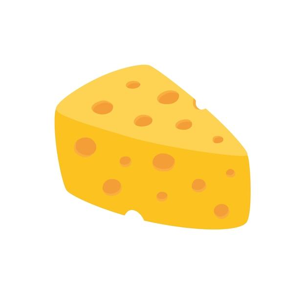 チーズベクトル分離 Premiumベクター