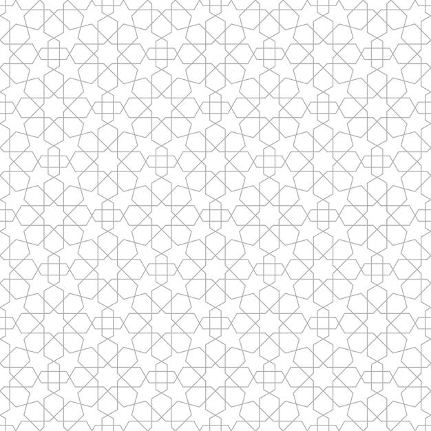 スター幾何シームレスパターン Premiumベクター