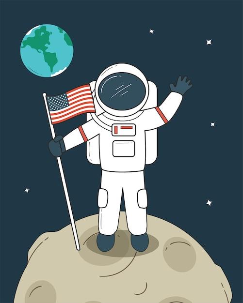 титов человек на луне рисунок борьба разновидность вооружённой