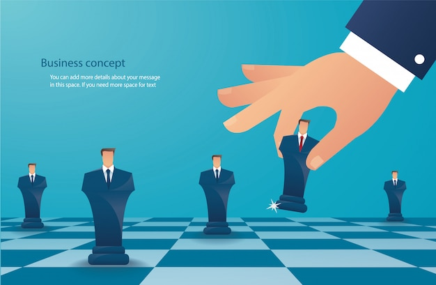 事業戦略のコンセプト Premiumベクター