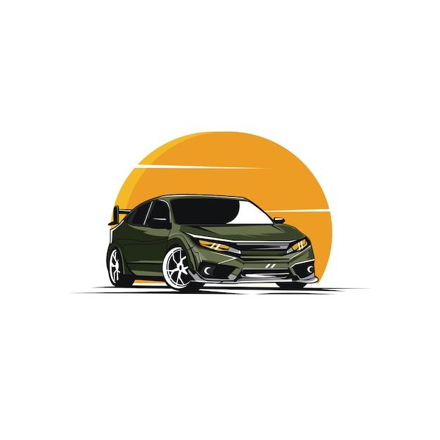自動車 Premiumベクター