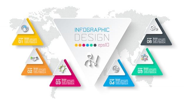 Бизнес инфографики Premium векторы