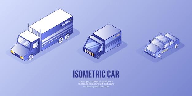 Концепция цифрового изометрического дизайна Premium векторы