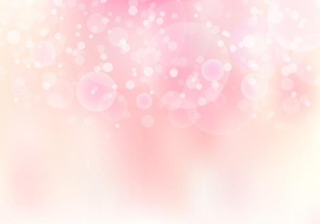 抽象的なピンクぼやけソフトフォーカスボケ背景 Premiumベクター