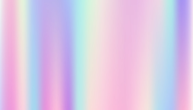 滑らかでホログラフィックの抽象的な背景。 Premiumベクター