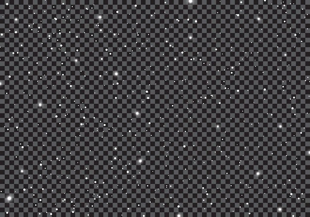 透明な背景に星の宇宙と宇宙。 Premiumベクター