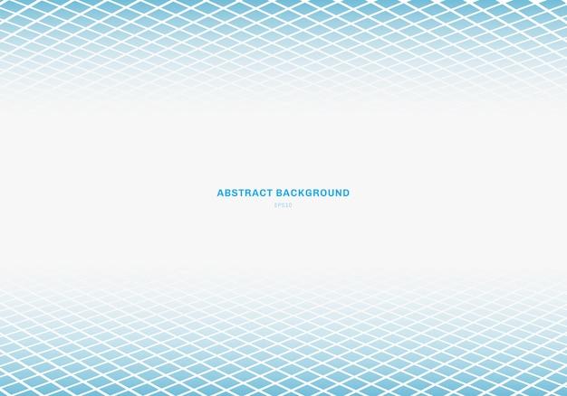抽象的な青い正方形の背景 Premiumベクター