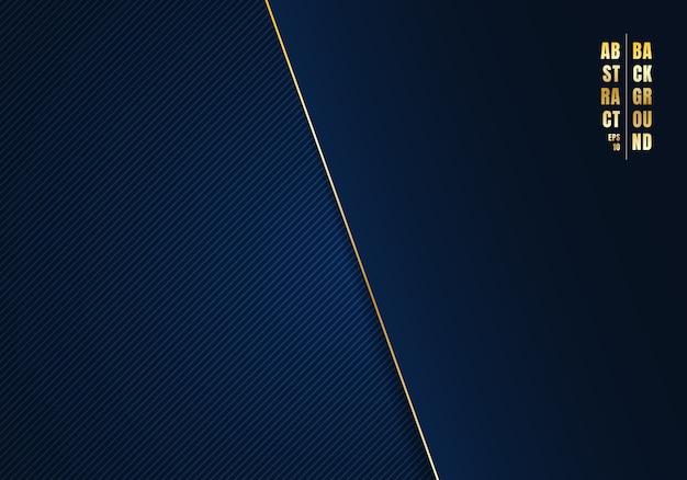 Абстрактный шаблон диагональные линии синий фон Premium векторы