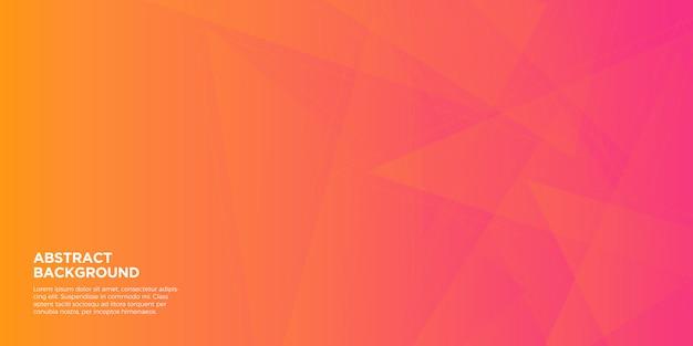 グラデーションの幾何学的形状の背景 Premiumベクター