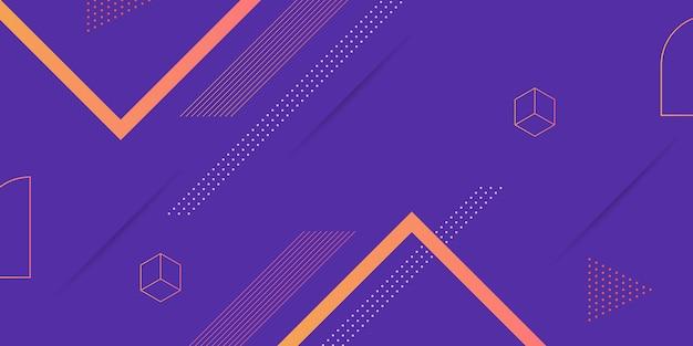 Абстрактный геометрический фон Premium векторы