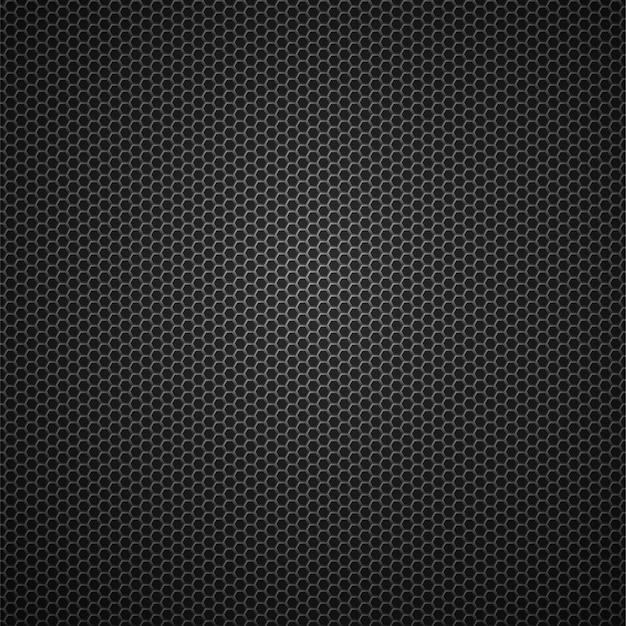 Углеродного волокна металлическая сетка вектор бесшовный фон фон Premium векторы