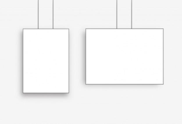 ポスター空白フレーム Premiumベクター