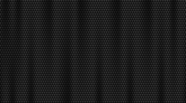 炭素繊維の背景。 Premiumベクター