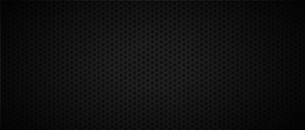 Темный абстрактный фон с отверстиями Premium векторы