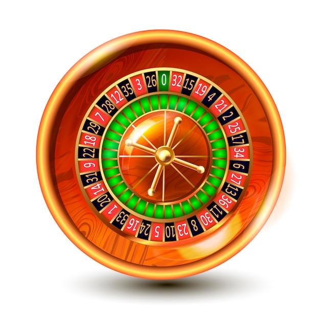 Казино азартная рулетка колесо. Premium векторы