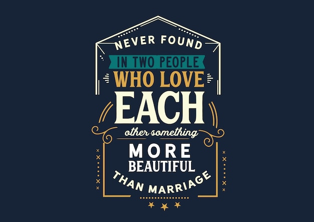 Любить друг друга красивее брака Premium векторы