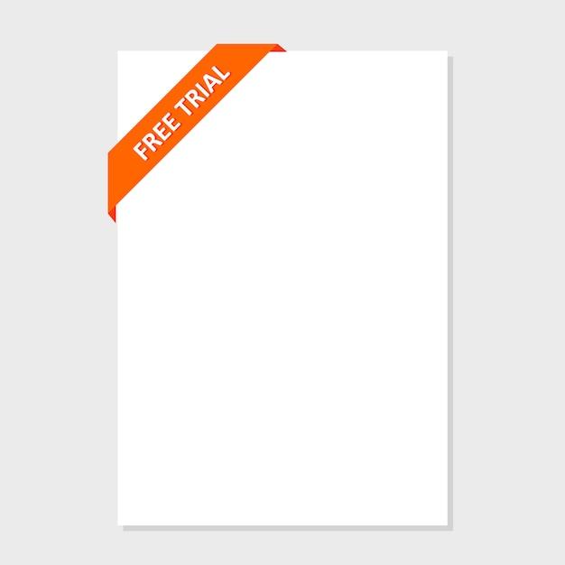 ウェブサイトのデザインのための色とりどりのボタンのセットです。無料トライアルデー 無料ベクター