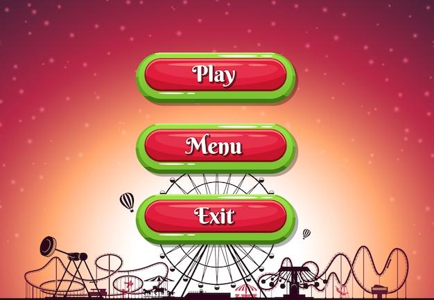 Кнопки Premium векторы
