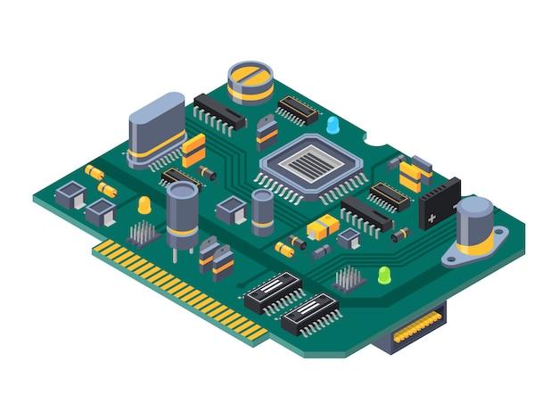 コンピュータ用ハードウェア機器 Premiumベクター