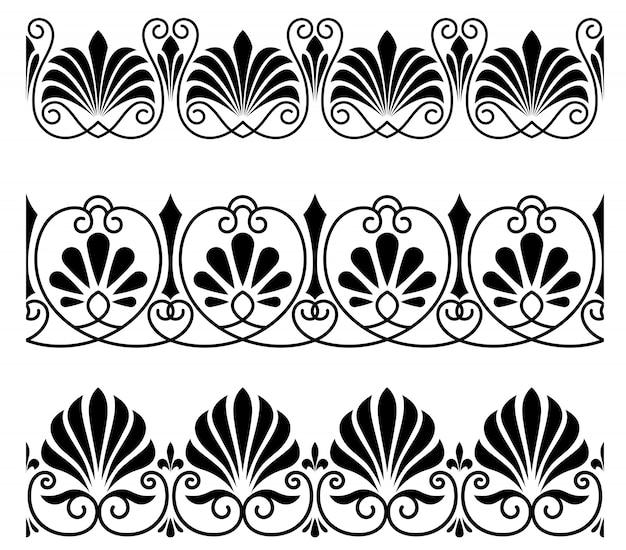ヴィンテージの装飾品や装飾品 Premiumベクター
