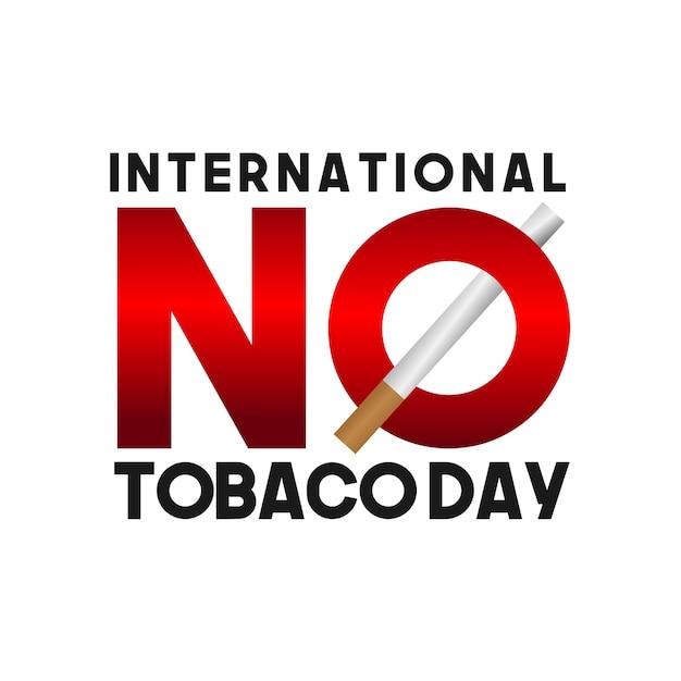 国際的なたばこの日 Premiumベクター