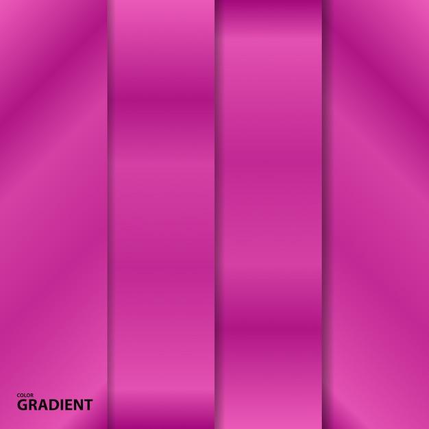 Шаблон коллекции градиента цвета Premium векторы