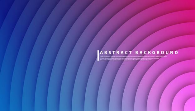 Радиальный круг градиент абстрактный фон Premium векторы
