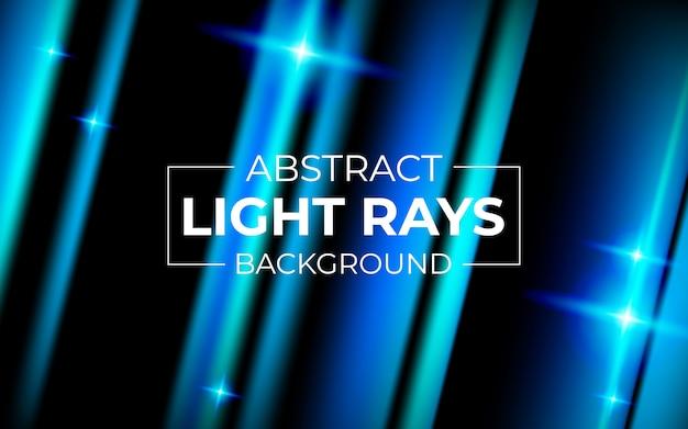 抽象的な技術青い光線の背景 Premiumベクター