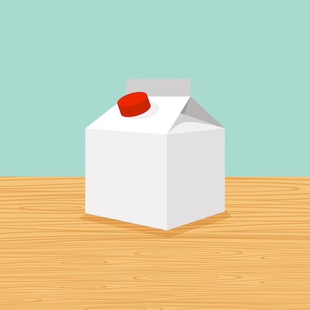 Ферма мультфильм молока Premium векторы