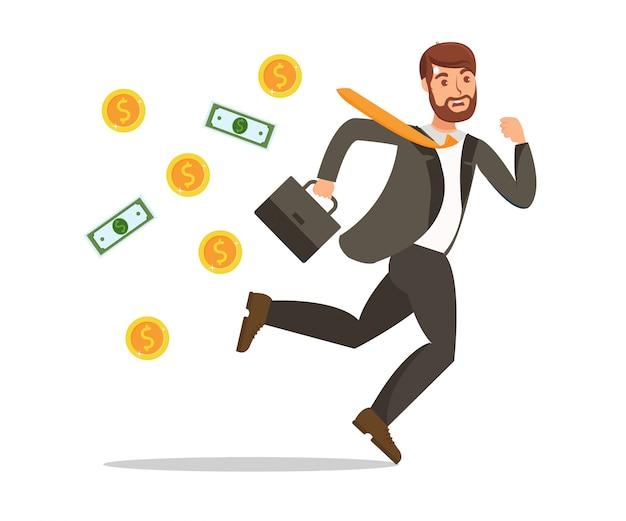 金銭を失う金融トラブル Premiumベクター