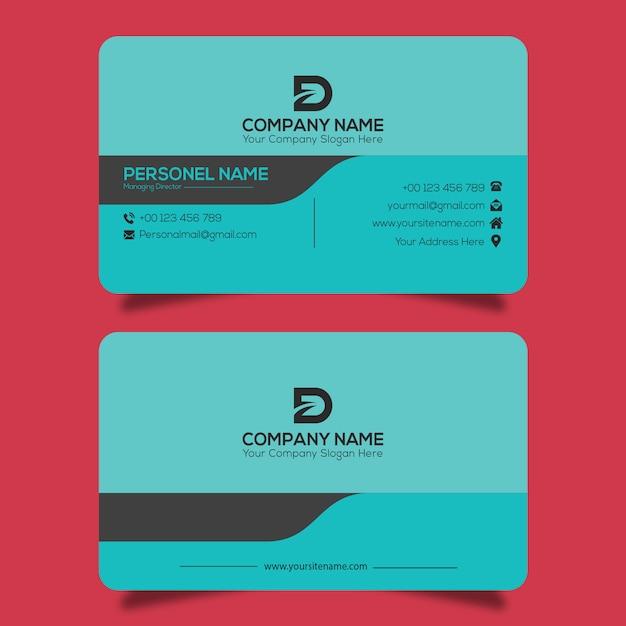 Визитная карточка Premium векторы