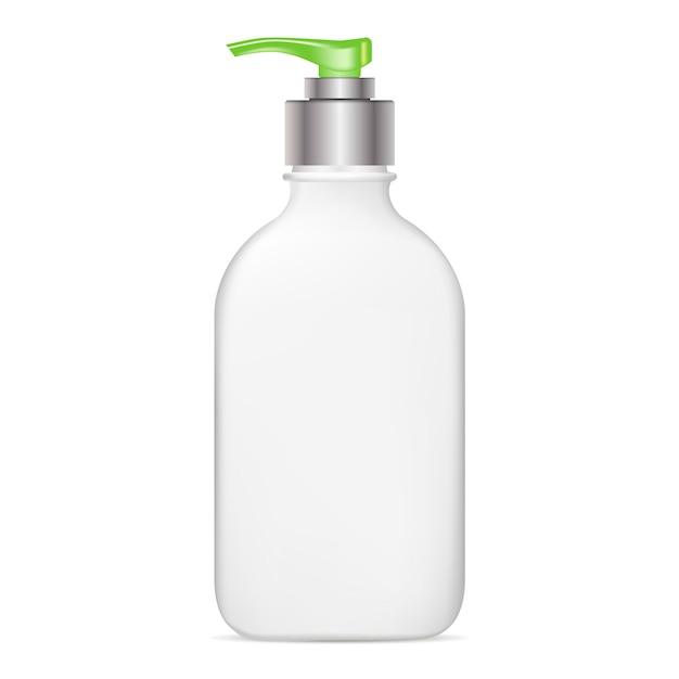 ポンプボトル。 Premiumベクター