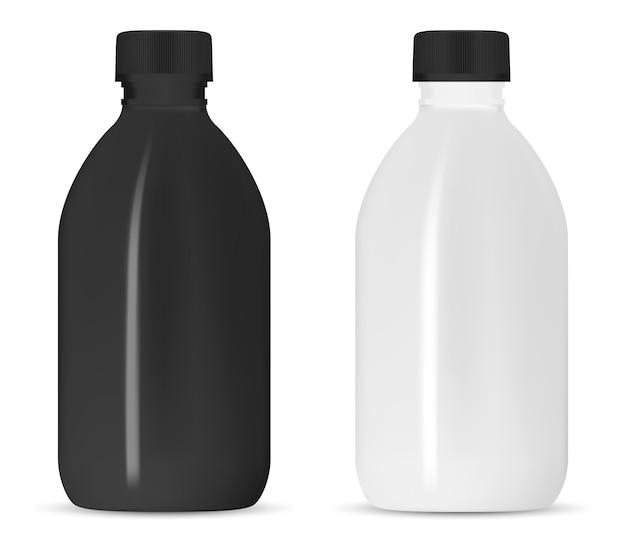 白いシャンプーボトル Premiumベクター