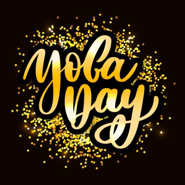Международный день йоги Premium векторы