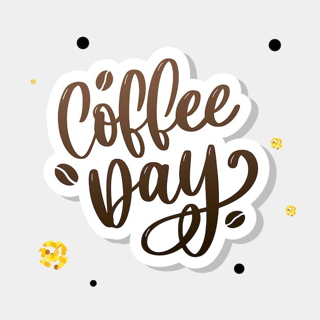 Всемирный день кофе Premium векторы