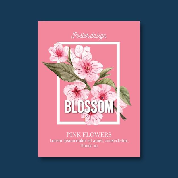 花カード 無料ベクター