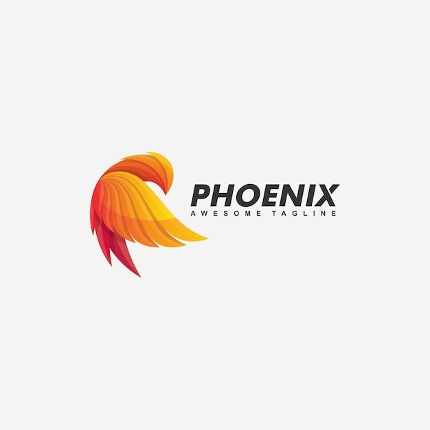 Феникс концепция иллюстрации Premium векторы