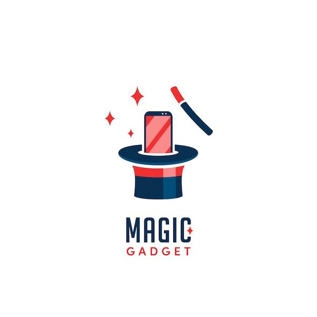 マジックガジェットのロゴ Premiumベクター
