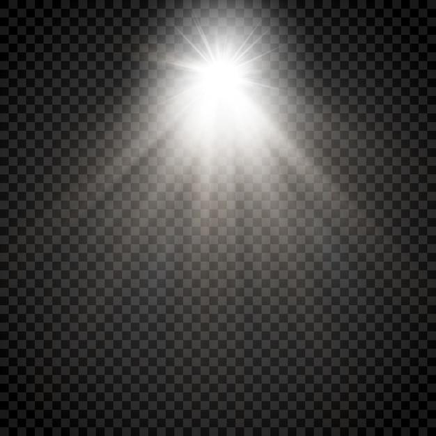 輝く星の光 Premiumベクター