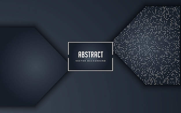 抽象的な背景が黒とグレーの輝くシルバー Premiumベクター
