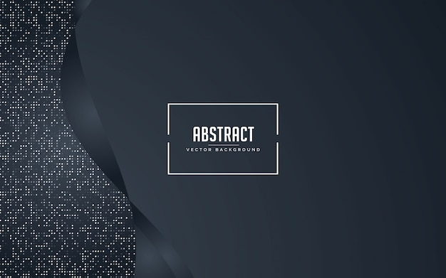 Абстрактный фон черный и серый с блестками серебра Premium векторы