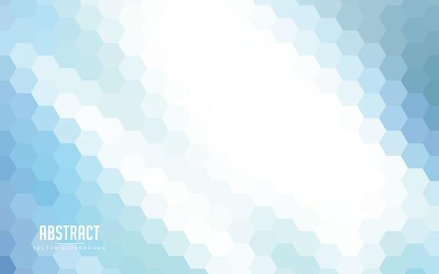 Абстрактный фон градиент шестиугольник красочный Premium векторы