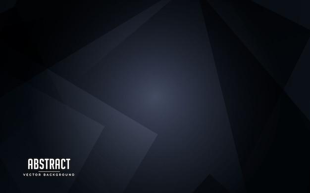 抽象的な背景の幾何学的な黒とグレーの色 Premiumベクター