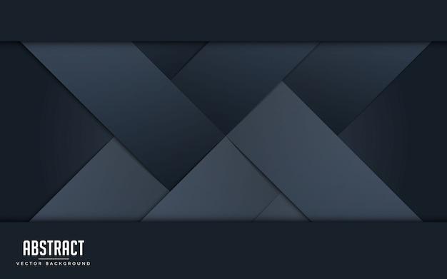 黒とグレーのカラフルな抽象的な背景。 Premiumベクター
