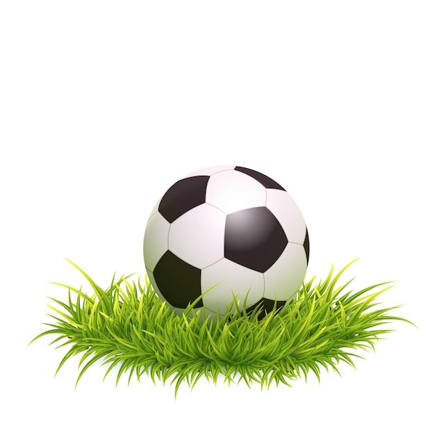 古典的なサッカーボール Premiumベクター