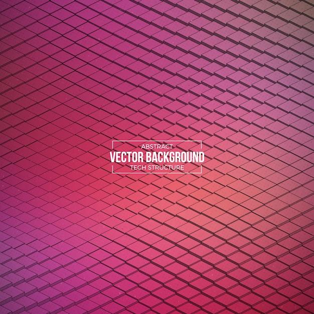 Абстрактный вектор технология структура фона Premium векторы