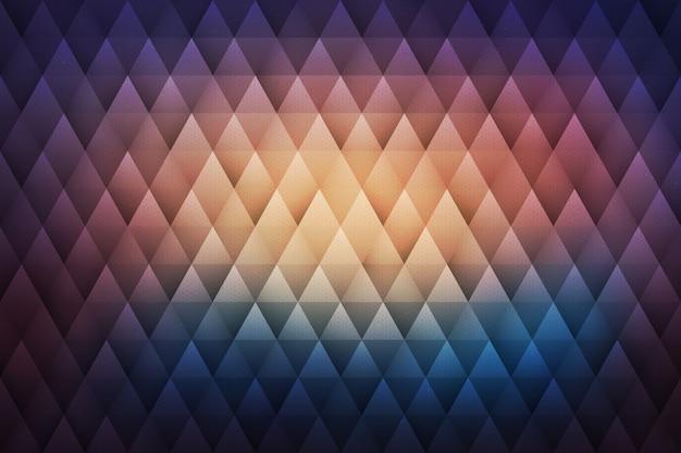 流行に敏感な幾何学的な抽象的な背景 Premiumベクター