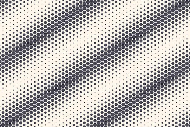 Шестиугольники шаблон абстрактный геометрический фон Premium векторы