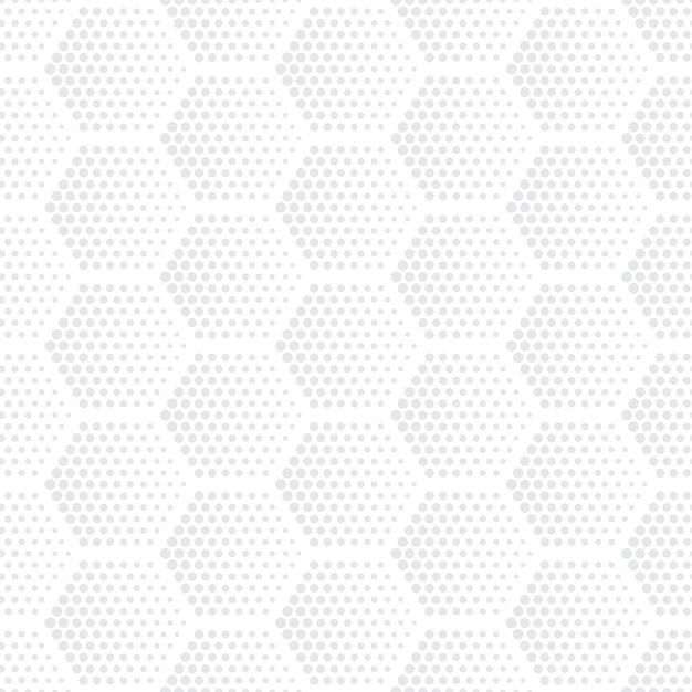 Бесшовные шаблон шестиугольников полутонов Premium векторы